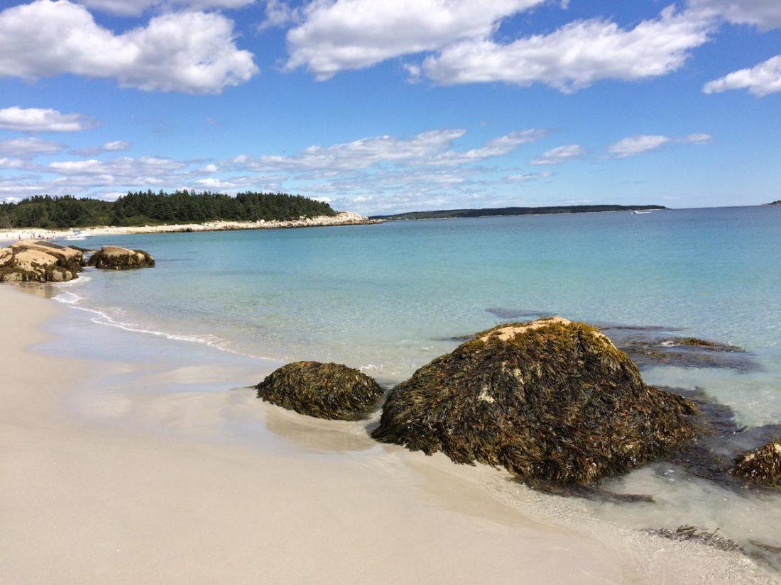 Direction : Les plages de sable blanc de la Nouvelle-Écosse!