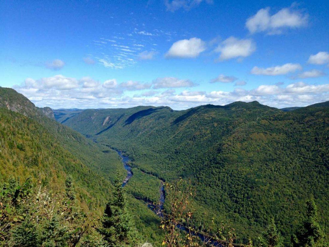 Le Parc National de la Jacques-Cartier, Stoneham, Province de Québec