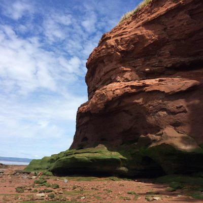 Bay of Fundy Getaway in Burncoat Head Park, Nova Scotia